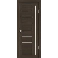Дверь PS-17 мокко экошпон 2000х600/700/800/9000 мм