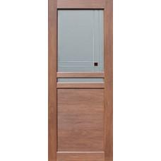 Дверь экошпон  Махагон 1.52  2000х600/700/800/9000 мм