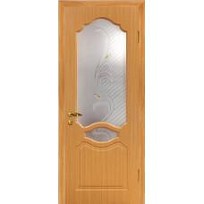 Дверь Венеция ПВХ миланский орех   2000х600/700/800/9000 мм