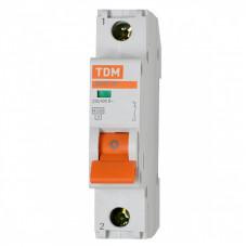 Автоматический выключатель ВА47-29 1Р 16 А 4,5кА  TDM