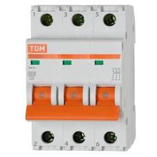 Автоматический выключатель ВА47-29 3Р 25 А  TDM