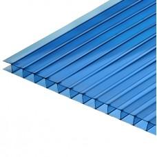 Сотовый поликарбонат синий 12000х2100х4 мм