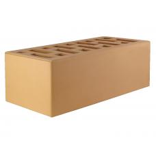Кирпич соломенный лицевой 1,4 НФ 250х120х88 мм