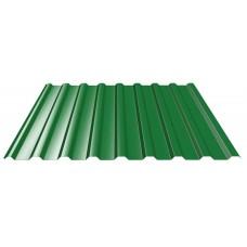 Профнастил ПМ-20 Зеленый 1150х2000 мм