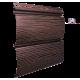 """Сайдинг BlockHouse """" Тимбер-Блок"""" дуб мореный 3400x230 мм"""