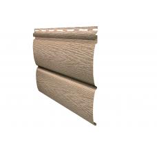 "Сайдинг BlockHouse "" Тимбер-Блок"" ясень золотистый 3400x230 мм"