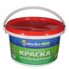 Краска Colorika ECO акриловая интерьерная белая 1 кг