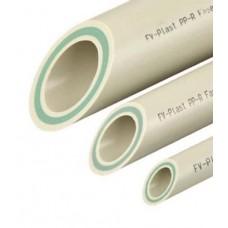 Труба полипропиленовая армированная стекловолокном 50х4000 мм, серая