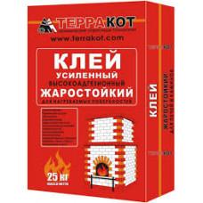 Плиточный клей Терракот жаростойкий 25 кг