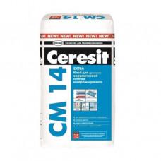 """Плиточный клей """"Ceresit CM 14 extra""""  25 кг"""