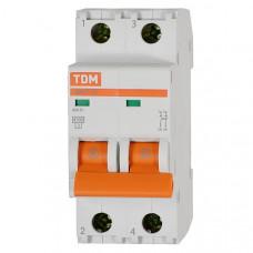 Автоматический выключатель ВА47-29 2Р 16 А  TDM