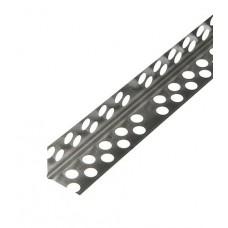Профиль углозащитный (алюминиевый) 25х25 мм, 3 м Стандарт 0,4 мм