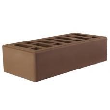 Кирпич коричневый (мокко) лицевой 1 НФ 250х120х65 мм