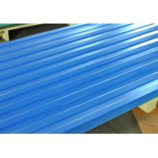 Профнастил С-8 голубой 2000х1200х0,35 мм